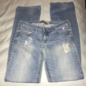 Hollister Ripped Denim Jeans